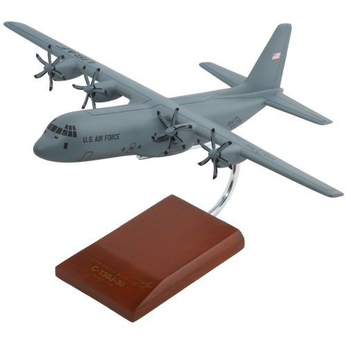 Mastercraft Collection Lockheed C-130J-30 Hercules Model Scale:1/100 (Largest Plane To Land On Aircraft Carrier)