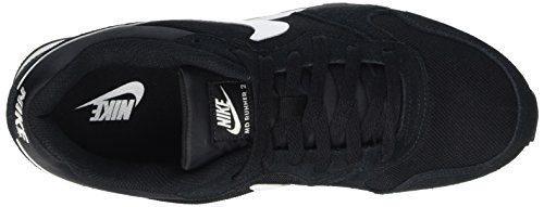 Nike Md Runner 2, Zapatillas de Running para Hombre Negro/Blanco/Gris (Black/White-Anthracite)