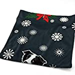 Border Collie Christmas Soft Cotton Large Hand Towel- Multipurpose Bathroom Towels for Hand, Face, Gym and Spa 7
