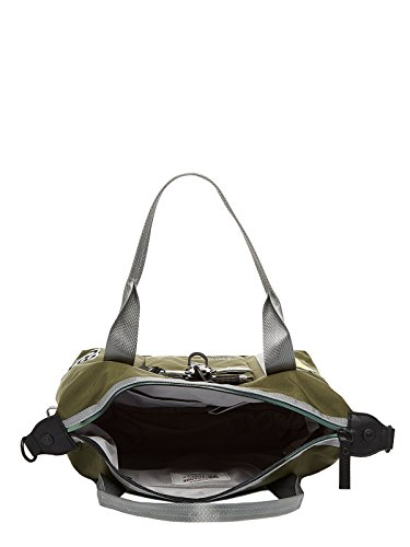 George Gina & Lucy Nylon Roots Shortrange Schultertasche green_olive x