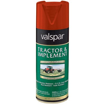 (Tractor and Implement Enamel Spray Paint [Set of 6] Color: Massey Ferguson Red)
