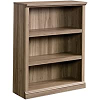 Sauder 420176 3-Shelf Bookcase 3, Salt Oak