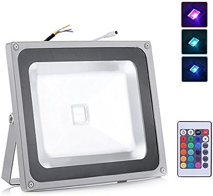 RGB LED de 10 W, 20 W, 30 W, 50 W, 100 W, LED con cambio de color ...