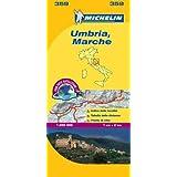 Marche & Umbria - Michelin Local Map 359 (Michelin Local Maps)