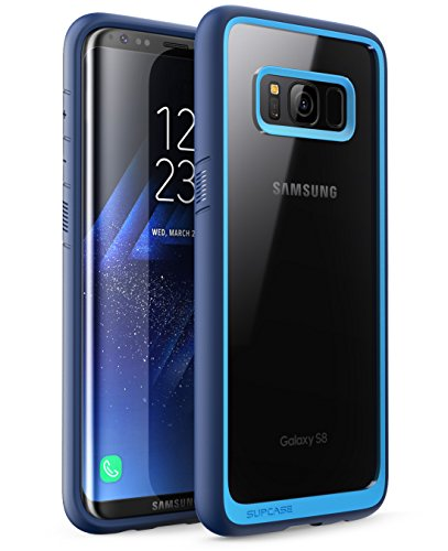 Galaxy S8 Plus Case, SUPCASE Unicorn Beetle Style Premium Hybrid Protective Clear Case for Samsung Galaxy S8 Plus 2017 Release (Navy)