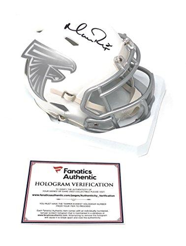 - Matt Ryan Atlanta Falcons Signed Autograph ICE Mini Helmet Fanatics Authentic Certified