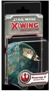 Fantasy Flight Games FFGD4060 Star Wars: X-Wing-Phantom II - Juego de Mesa (Contenido en alemán): Amazon.es: Juguetes y juegos