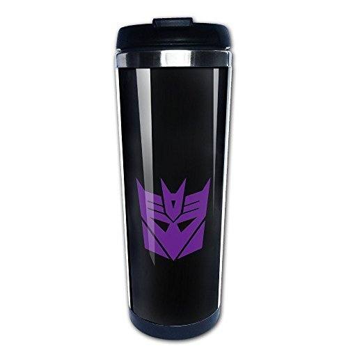 Beaufiy Transformers Decepticon Logo Stainless Steel Travel Tumbler - Transformers Coasters
