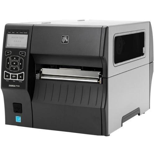 Zebra Technologies ZT42062-T01A000Z Series ZT420 Direct Thermal/Thermal Transfer Industrial Printer, 203 DPI, 6