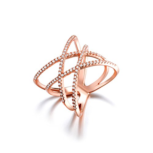 Rose Gold Fashion Ring Amazoncom