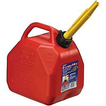 Amazon Com Midwest Can 2300 Gas Can 2 Gallon Capacity