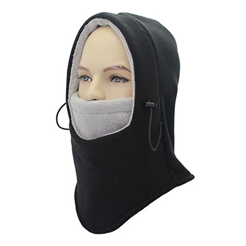 Balaclava Face Ski Mask - Motorcycle Fleece Hood/Neck Warmers/Hat Mens - Beanies To Buy Where Cool