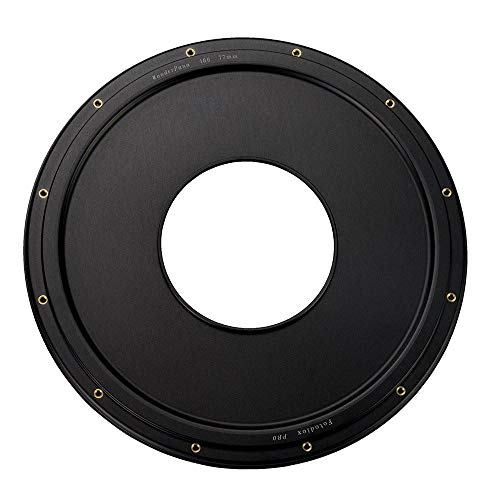WonderPana XL 145mm-186mm Step-up Ring Only - Anodized Black Metal Aluminum Step up Ring for 145mm Lens Threads to 186mm WonderPana XL Round Filters ()