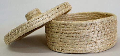 Henequen Fiber Tortilla Warmer Basket Eco Friendly Handmade in Mexico Mayan Art