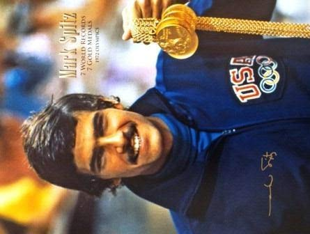 Autographed Signed Mark Spitz 16 X 20 Photo - Certified Authentic