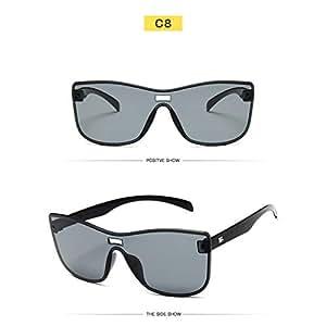 YLNJYJ Gafas De Sol Sin Montura De Mujer Diseñador De La ...