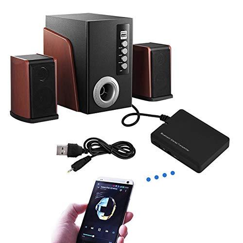 - Small-Chipinc - Wireless Bluetooth Transmitter 3.5mm Audio Stereo Music Transmitter Adapter A2DP HiFi For iPod Hi-Fi Audio PSP MP3 Player TV PC