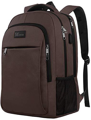 15.6 in Laptop Backpack, School Backpack with USB for Men Women and College Student, Durable Laptop Bag for Laptop Accessories Water Resistant Travel Backpack Functional Birthday Gifts for Her and Him