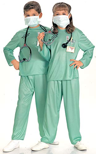 Toys R Us Childrens Halloween Costumes (Rubie's Child's E.R. Doctor Costume,)