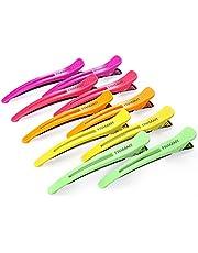 Framar Neon Hair Clips 10 pack – Professional Hair Clips for Styling Sectioning, Salon Hair Clips For Sectioning Hair, Hair Styling Clips for Hair, Hair Cutting Clips for Hair Sectioning