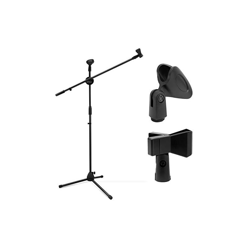 Microphone Stand, Ohuhu Tripod Boom Mic