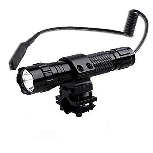 BESTSUN 1200 Lumen XML-T6 L2 LED Torch Light Tactical Waterproof LED Flashlight Single Mode Super Bright Handheld Flashlight Set for Camping Hiking Cycling