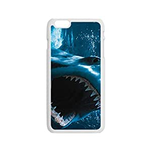 Hope-Store Scary Shark Custom Protective Hard Phone Cae For Iphone 6