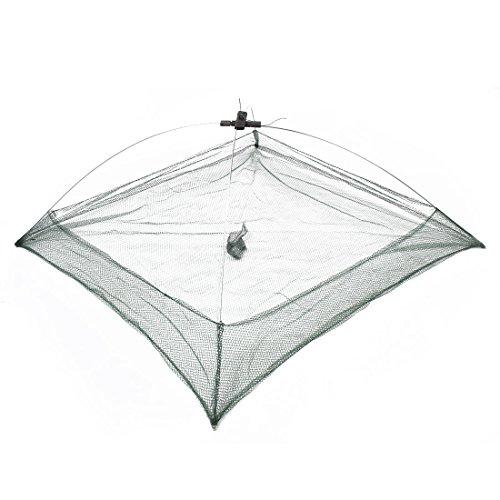 Como 76 x 76cm Umbrella Design Crab Cast Lures Fishing Dip Net