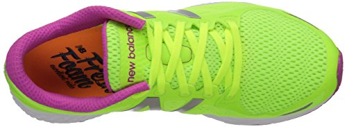 New Balance Women's Fresh Foam Zantev2 Running Shoe Green/Pink