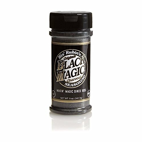 Mis Rubin's Original Black Magic Steak rub and All Purpose BBQ Seasoning (Meat Seasoning Blend)