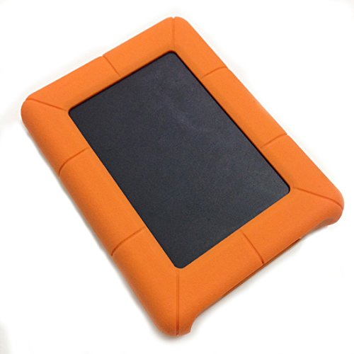 Price comparison product image UY CHAN Shockproof Silicone Protective Sleeve Case Bag Pouch For Seagate Backup Plus Slim STDR500-1000 500GB-1TB External Portable Hard Drive HDD (Hard Drive & Cable Not Included)