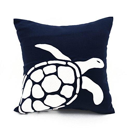 sea turtle decorative throw pillow