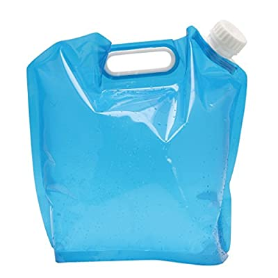 ULKEME 10L Outdoor Collapsible Foldable Drinking Water Bag Car Water Carrier Container by ULKEME