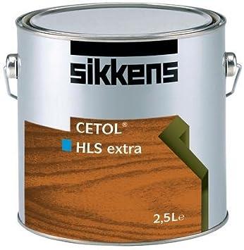 Sikkens Cetol Holzlasur: HLS Extra 2, 5 Liter : 006 Eiche Hell