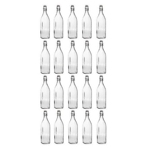 Bormioli Rocco 12.5'' High Swing Bottle, 33.75 Ounces, 20 Pack. by Bormioli Rocco