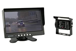 7'' TFT monitor color + IP67 Cámara Color incluido cable de 20 metros para la conexión (12-24 voltios)
