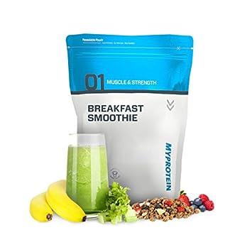 MyProtein Breakfast Smoothie Desayuno de Proteína, Sabor Plátano y Fresas - 1000 gr: Amazon.es: Salud y cuidado personal