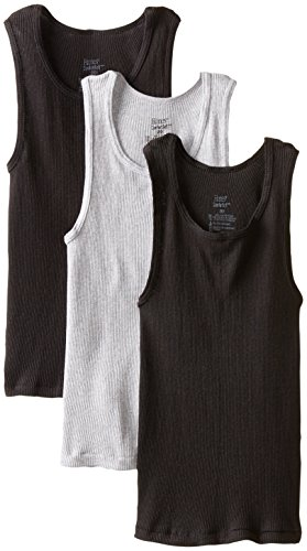 Hanes Big Boys' Dyed Tank, Assorted, ()