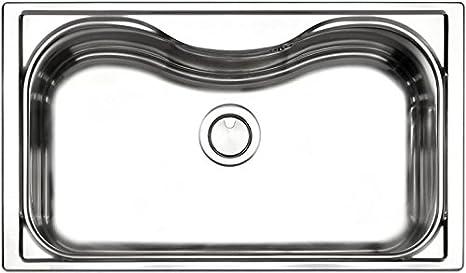 Apell Lavello Cucina Incasso 1 Vasca 86 cm Acciaio Criteria CR860IBC ...