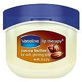 Vaseline Lip Therapy Balm Cocoa Butter, 16 Packs x 7g / 0.25 oz, Mini Travel Size