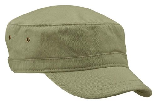 Out Military Hat (econscious 100% Organic Cotton Twill Adjustable Corps Hat (Jungle))