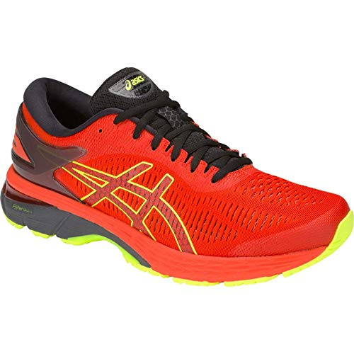 ASICS Gel-Kayano 25 Men's Running Shoe, Cherry Tomato/Black, 7.5 D US by ASICS (Image #1)