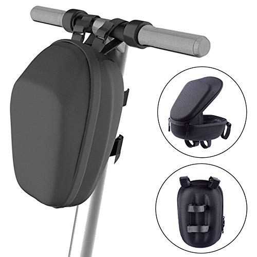 Flymall Carrier Storage Bag,Bike Saddle Bag,Scooter Head Handle Bag for Electric Scooter Carrying Tools Charger Battery Bottle Phone