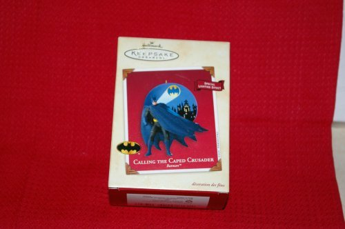 Hallmark Calling The Caped Crusader (Batman) Keepsake Ornament (Box Rider Keepsake)