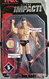 TNA Wrestling Deluxe Impact Series 5 Action Figure Rob Terry With Global Belt