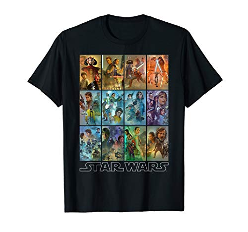 Star Wars Celebration Mural Art Panels T-Shirt