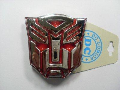 Transformers Autobots Belt Buckle (Transformers Autobot Red Belt)