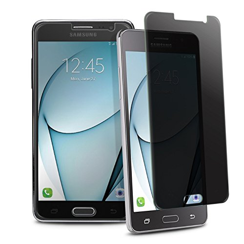 Compatible with Samsung Galaxy On5 Screen Protector, Insten [2-Pack] Privacy Anti-Spy Tempered Glass LCD Screen Protector Shield Guard Film Compatible with Samsung Galaxy On5