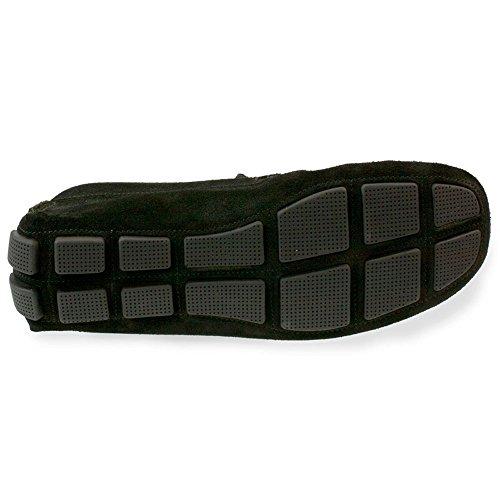 RODI Misano pour homme italien Conduite–Chaussures en daim noir