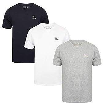 319e0058f635 Tokyo Laundry Men's 3 Pack Cotton T-Shirts Set: Amazon.co.uk: Clothing